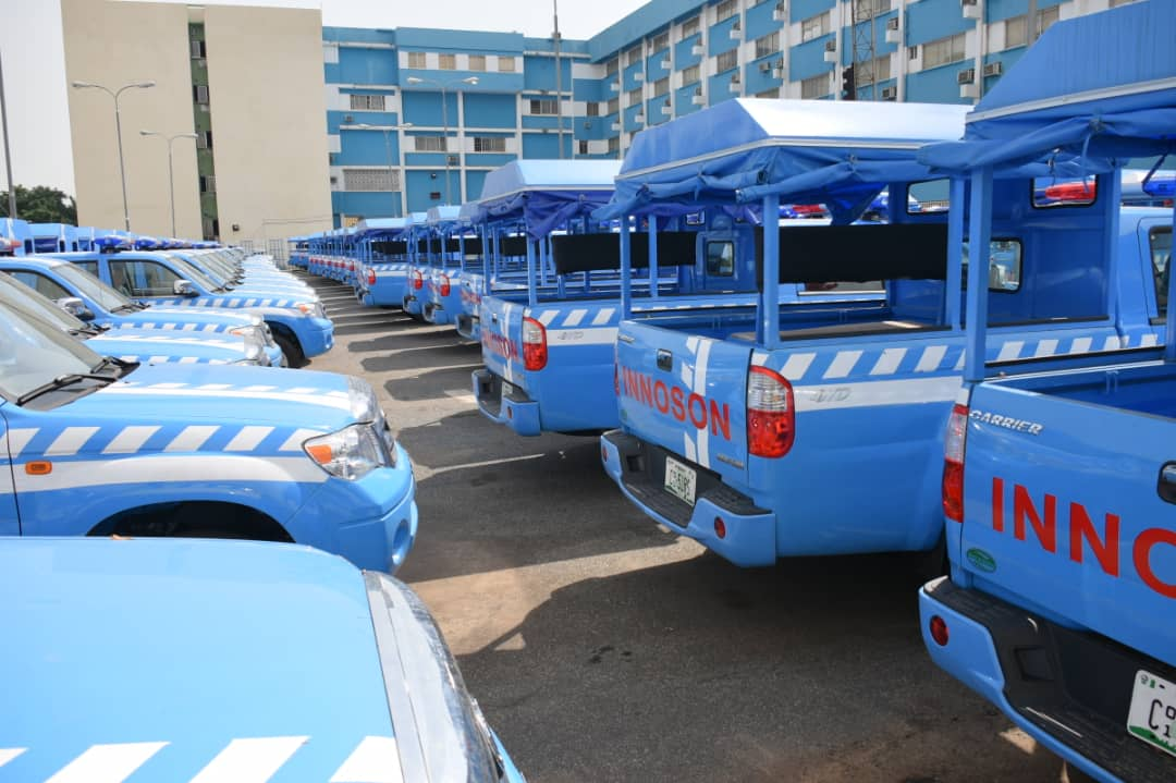 Innoson Motors Delivers 77 New Vehicles To FRSC D4QcRHmWwAAZCUf