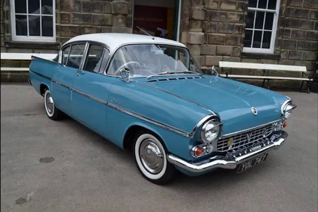 Vauxhall Cresta PA 1960s British classic car