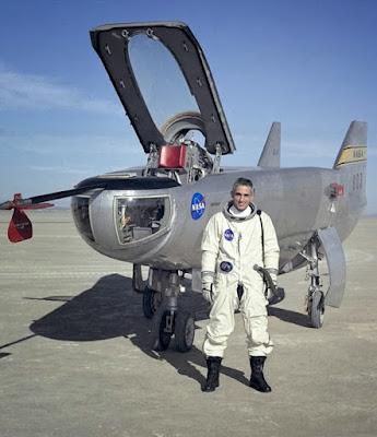 Pesawat Ujian Tanpa Sayap Ciptaan NASA