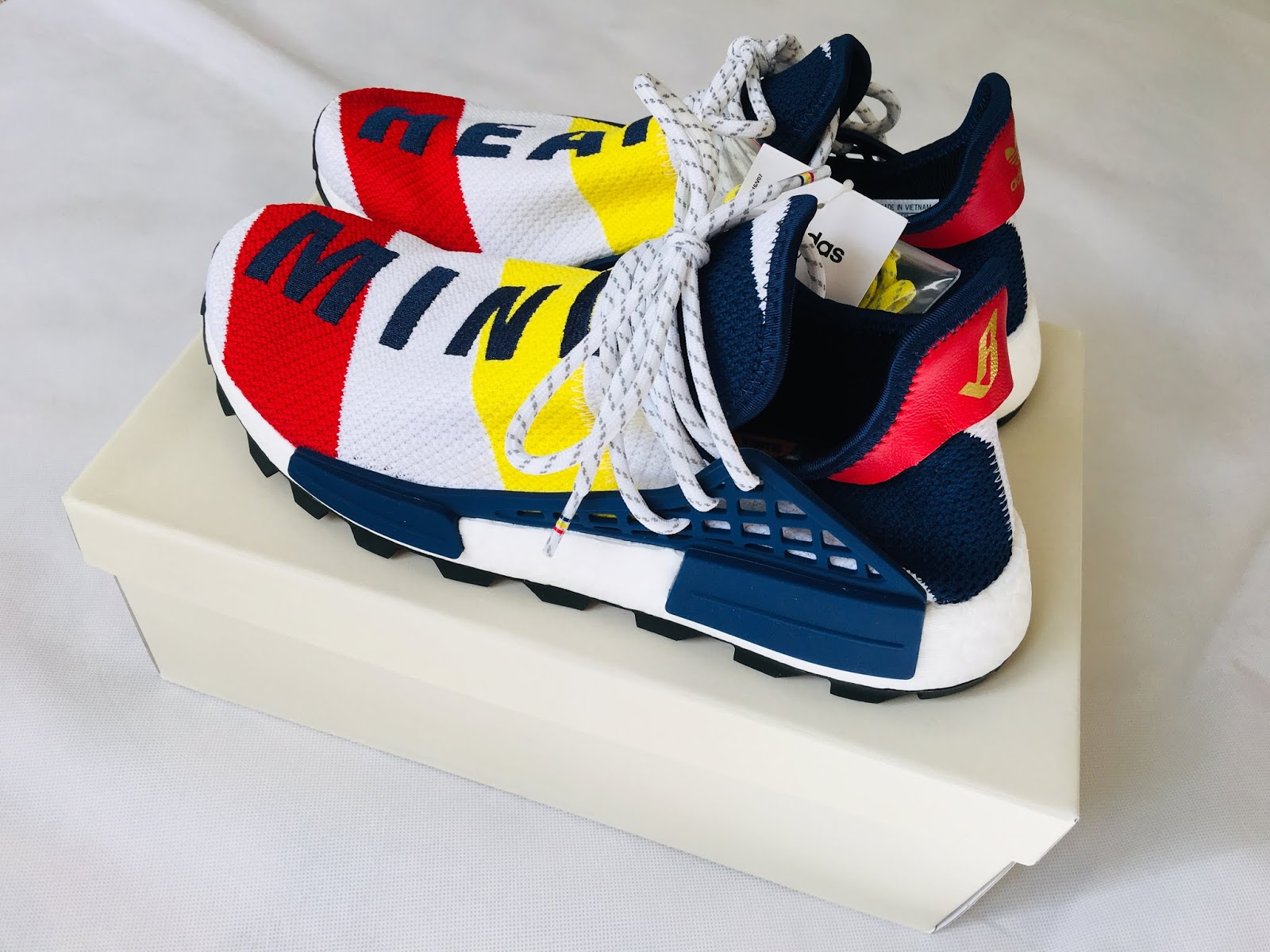 0fba64be66738 Adidas x Pharrell Williams x Billionaire Boys Club HU NMD Sneakers BB9544