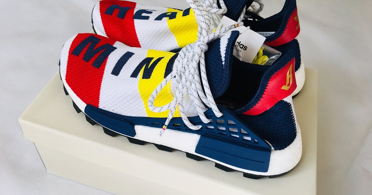 0b879b79c ... skateboarding and fashion clothing brands photo and video reviews blog   Adidas x Pharrell Williams x Billionaire Boys Club HU NMD Sneakers BB9544  Review