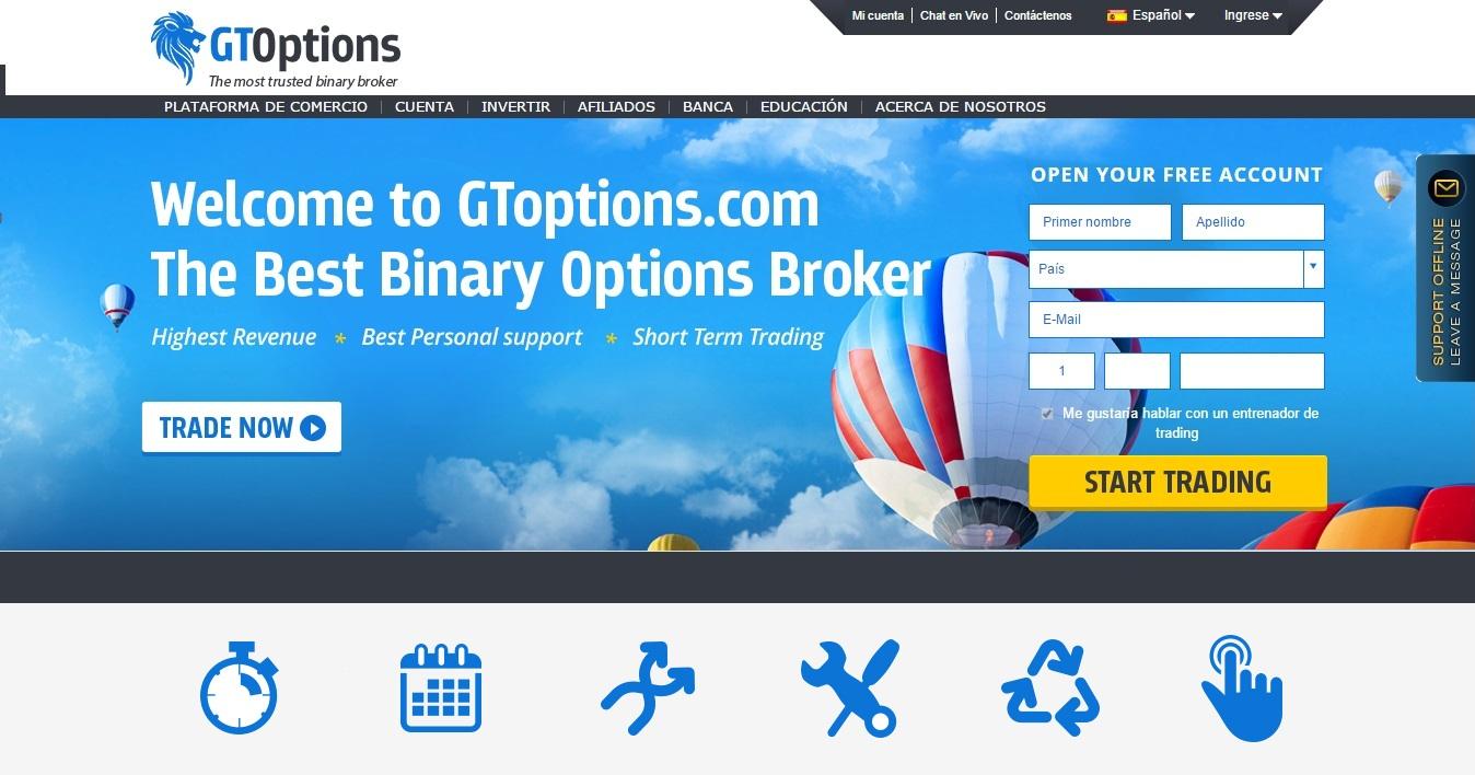 Mejores sitios de comercio de opciones binarias