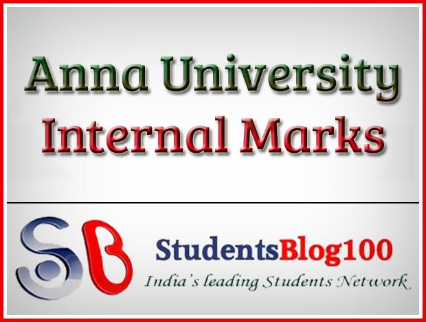 Anna university Internal Marks