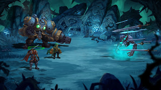 Battle Chasers Nightwar iPhone Wallpaper