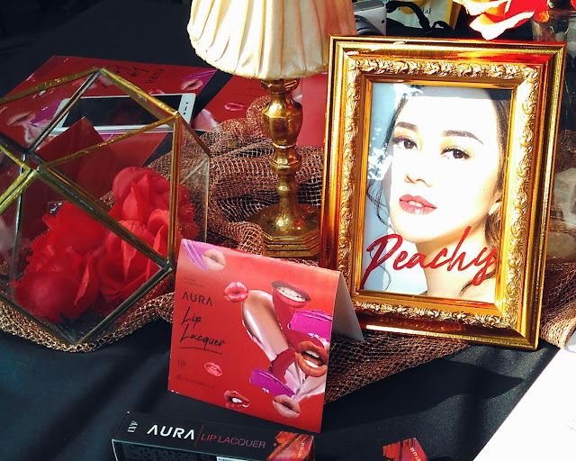 LVF Aura Lip Lacquer menggandeng Aura Kasih sebagai Brand Ambassador