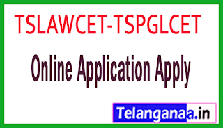TS Telangana TSLAWCET-TSPGLCET 2019 Online Application Apply
