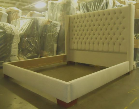 Upholstered Beds With Footboards Home Improvement