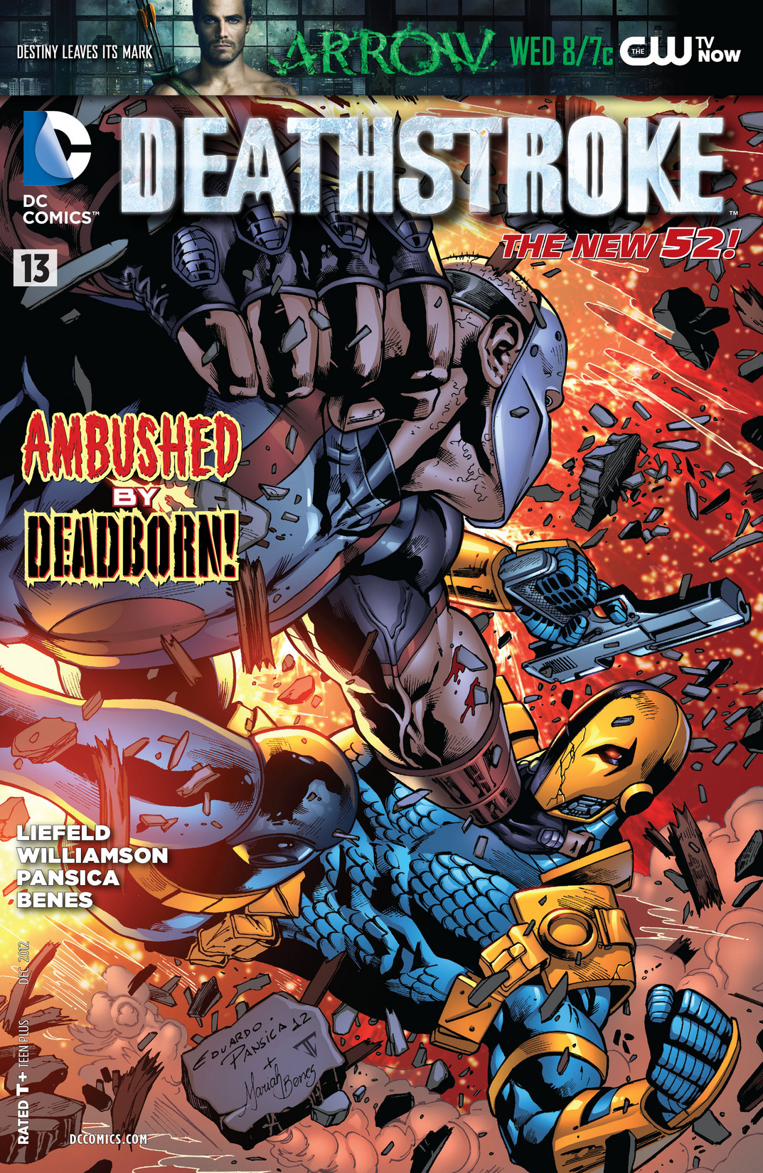 Deathstroke (2011) issue 13 - Page 1