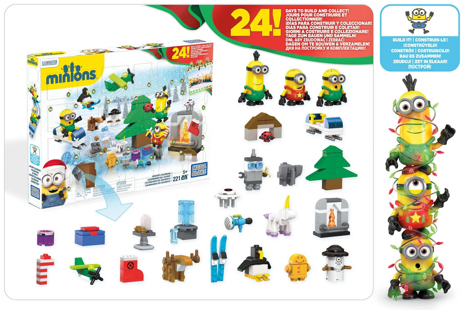 brickstoy mega bloks also has his own advent calendar. Black Bedroom Furniture Sets. Home Design Ideas