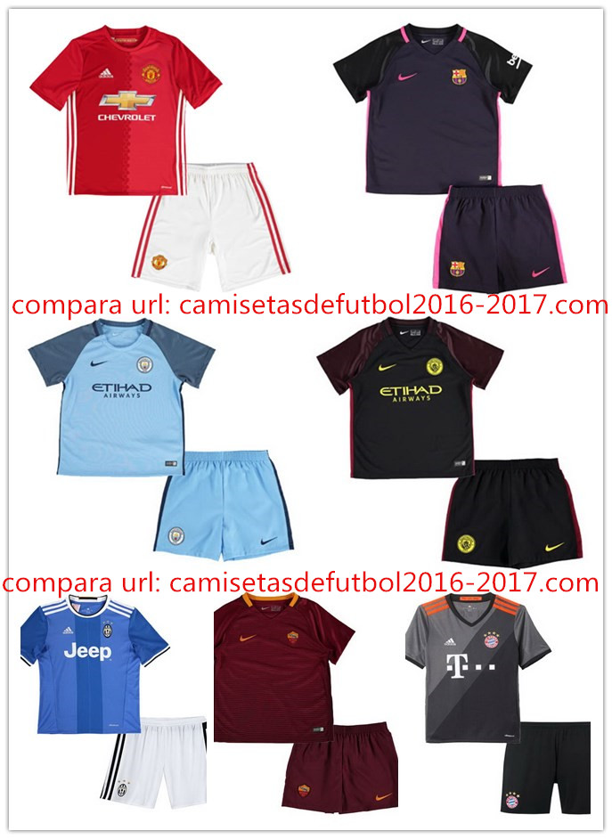 Camisetas de futbol baratas 2016: Camisetas de futbol niño baratas 2017