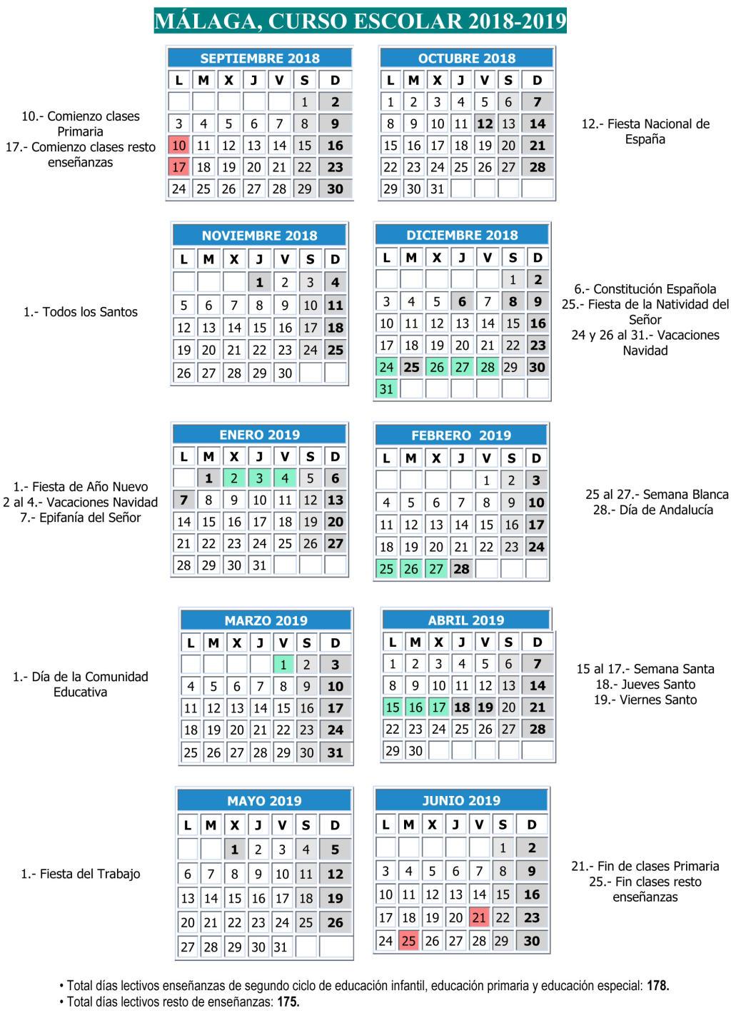 Calendario Oposiciones 2019 Andalucia.Tecnologia E S O Y Tecnologia Industrial Bachillerato Calendario