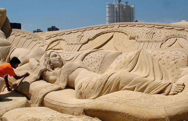 Undiscovered Indian Treasures: Sand Sculpture: Uniquness ...