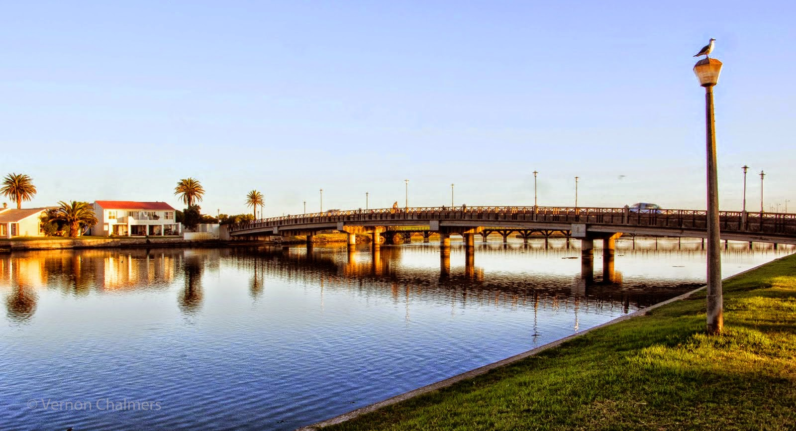 Copyright Vernon Chalmers: Main Bridge on Milnerton Lagoon