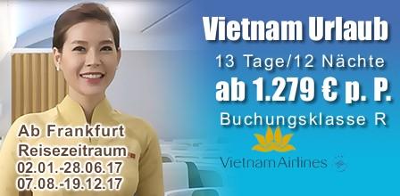 Vietnam Urlaub mit Vietnam Airlines