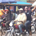 Governor Fayose Rides Okada to Ekiti Government House [SEE PHOTOS]