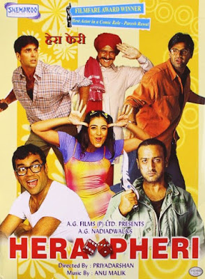 Hera Pheri watch full hindi comedy movie