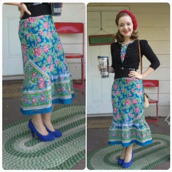 Flashback Summer: 1930s Zanzibar Dress