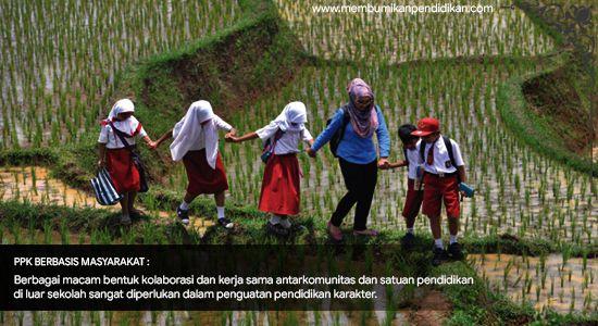 Implementasi Penguatan Pendidikan Karakter Berbasis Masyarakat