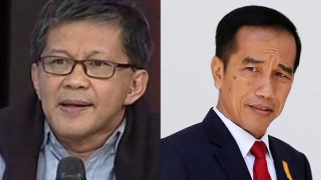 Pengelolaan Akun Twitter Jokowi Dibandingkan SBY, Rocky Gerung: Pusat Hoax Nasional Itu Bukan Fiktif