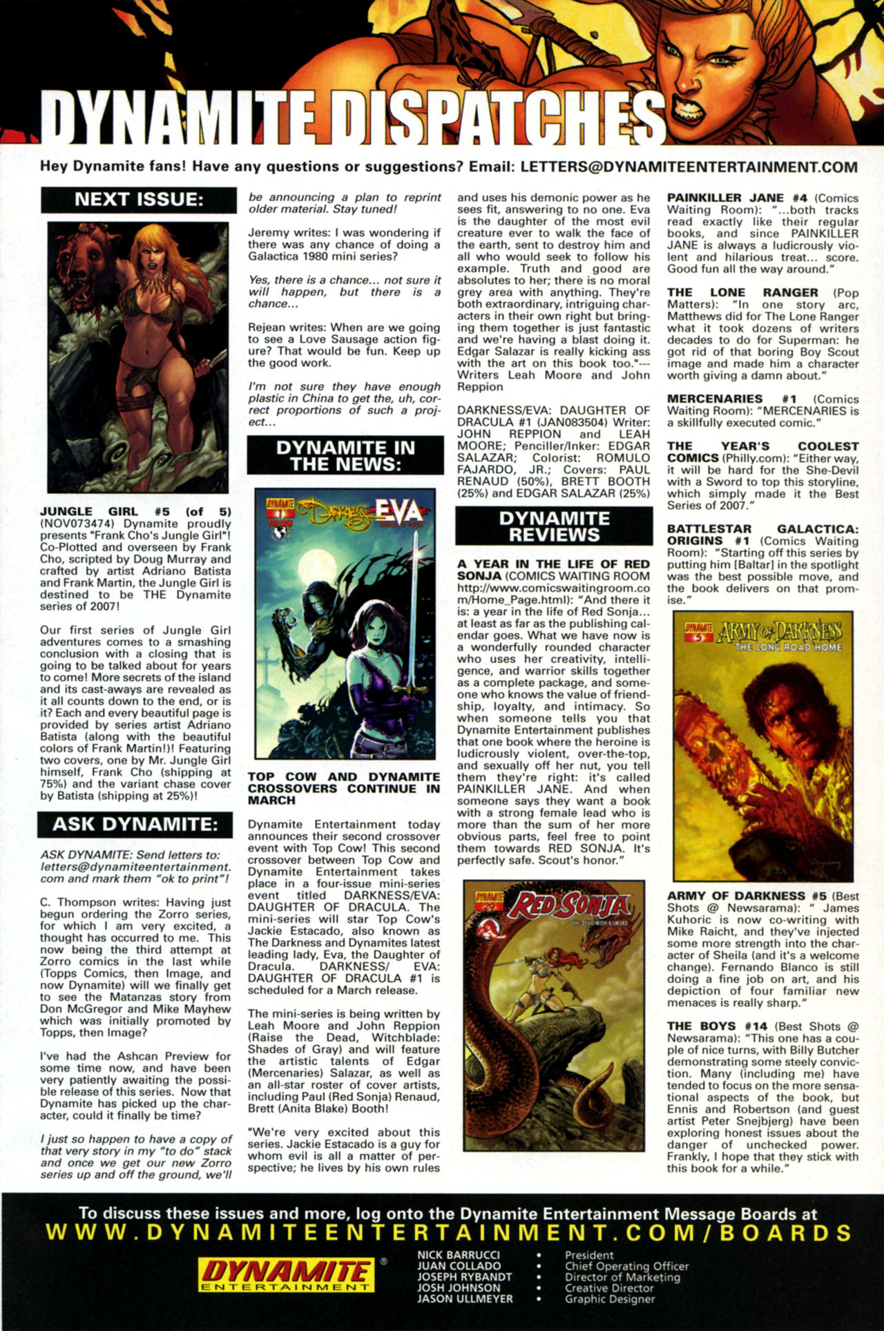 Read online Jungle Girl comic -  Issue #4 - 26