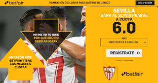 betfair supercuota Europa League Sevilla gana Slavia Prague 7 marzo 2019