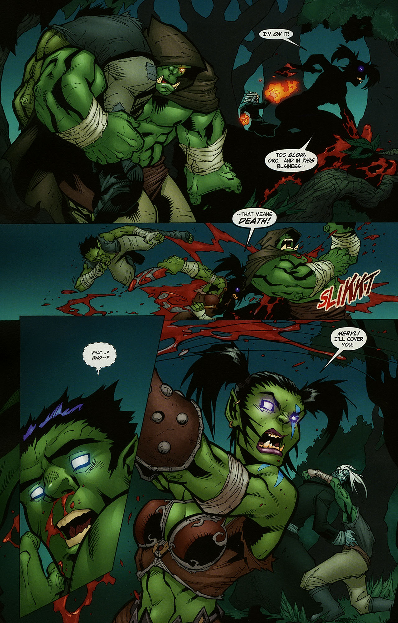 Read online World of Warcraft comic -  Issue #15 - 14