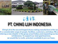 Lowongan Kerja Terbaru Tangerang PT Victory Ching Luh Indonesia