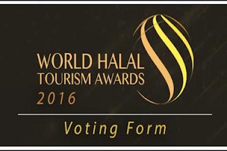Ayo Dukung Wisata Indonesia di Ajang World Halal Tourism Award 2016