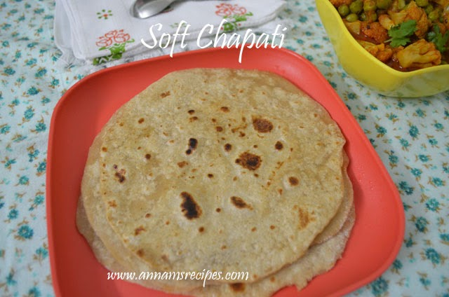 Chapati / Soft Chapati