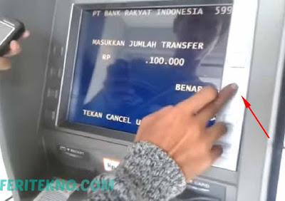 cara transfer uang lewat bank bri ke atm bank lain 8