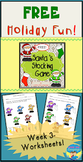 Happy holidays from Looks Like Language! Get your free color matching worksheets here!