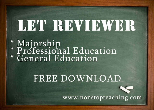 Majorship, Professional, and General Education LET Reviewers with Answer Keys