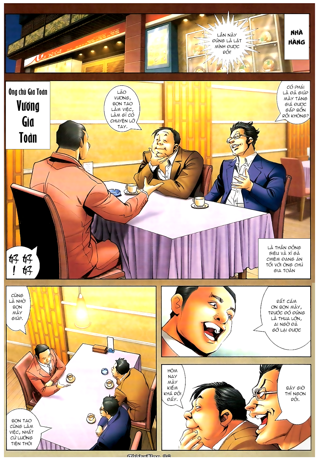 Người Trong Giang Hồ - Chapter 1194: Ác mộng Bố Già - Pic 22