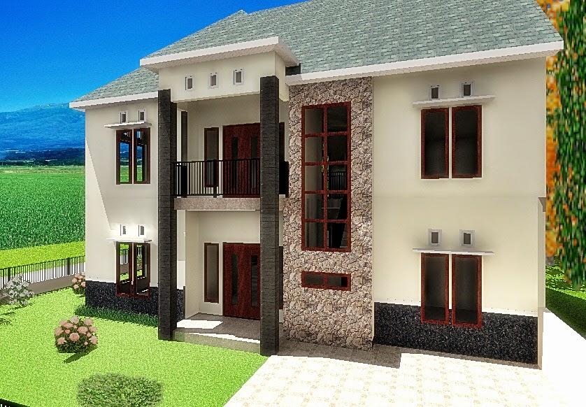 Rumah tumbuh tahap ketiga, tampak depan
