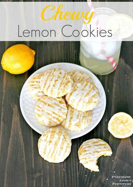 Chewy lemon cookies recipe