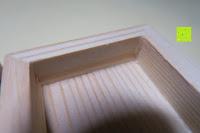 """Holz: Amazy """"Onyx"""" Eiswürfel – Die wiederverwendbaren Eiswürfel aus vulkanischem Gesteinsglas"""