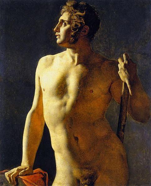 Estudo de Nu - Ingres e suas principas pinturas ~ Neoclassicismo