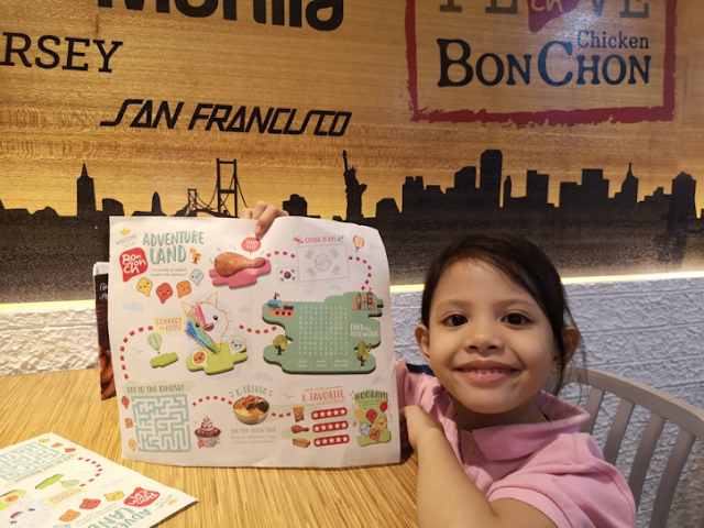 Bonchon's Kiddie Adventure Meal—KIDS EAT FOR FREE!