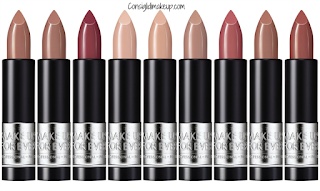 preview artist rouge lipstick make up forever rossetti nude