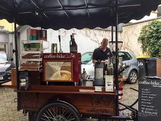 Coffee-Bike auf der Wubttika