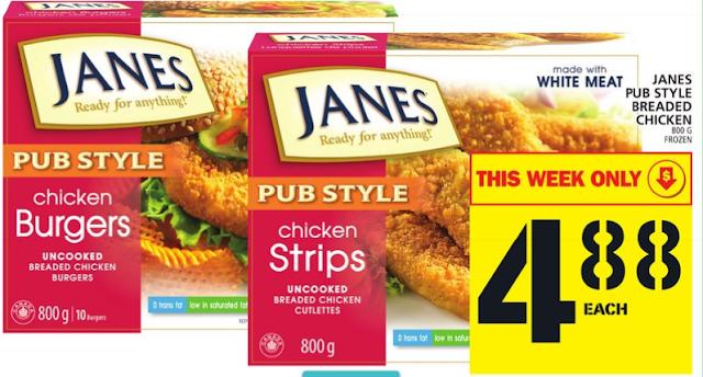 Janes Chicken for $0.88 -MEGA Deal at Food Basics