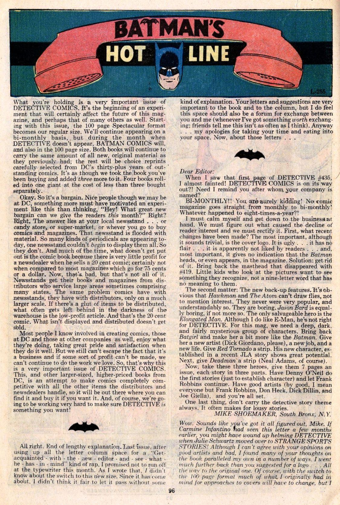 Detective Comics (1937) 438 Page 96