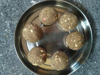 Pearl millet (Bajra) Porivilangaai Laddu