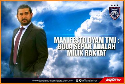 TMJ Khianati Bolasepak Malaysia