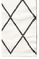 Jacquard Weave Cotton Rug