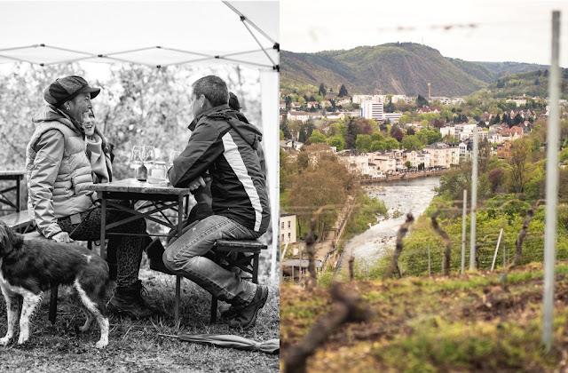 Weinfrühling auf dem Panoramaweg in Bad Kreuznach
