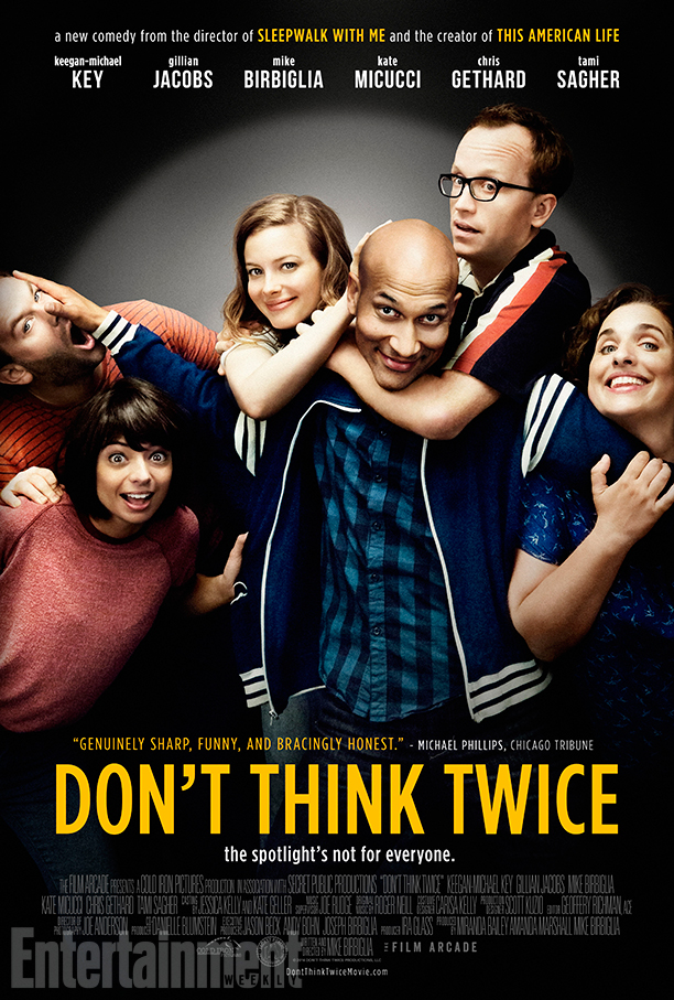 Don't Think Twice 2016 movie Poster
