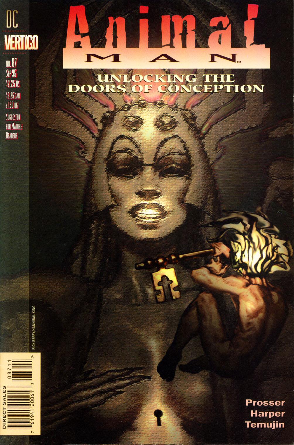 Read online Animal Man (1988) comic -  Issue #87 - 1