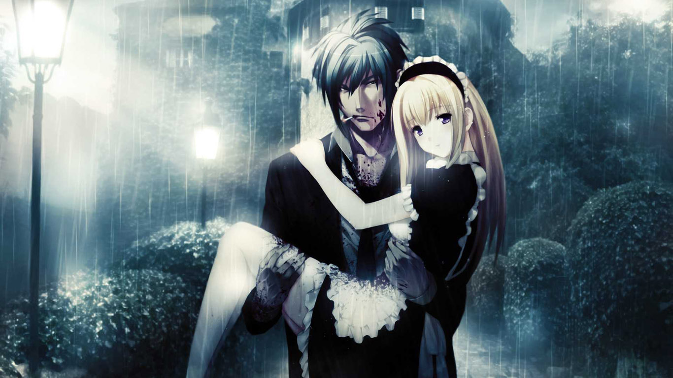 Anime Images Wallpaper Love Couples Couple Hd Wallpaper: Free Love Wallpapers: Anime Love Wallpapers Download 2013