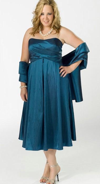 Modelos de vestidos de 15 para gorditas